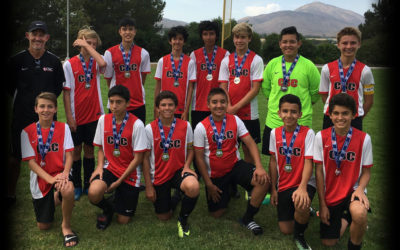Boys 2003 Are Finalists At Chula Vista Cup!