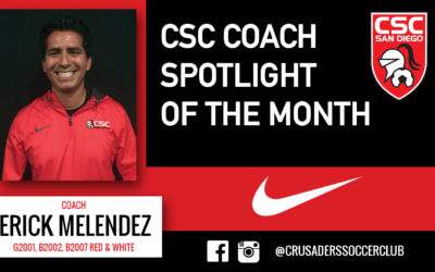 COACH SPOTLIGHT OF THE MONTH