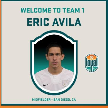 Crusaders SC Alumni Erick Avila With San Diego Loyal SC